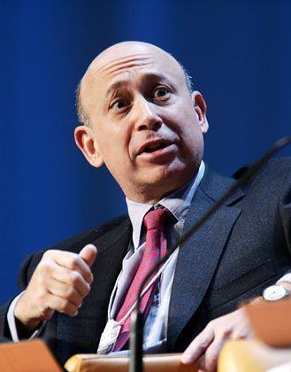 Lloyd C. Blankfein, Chef bei Goldman Sachs