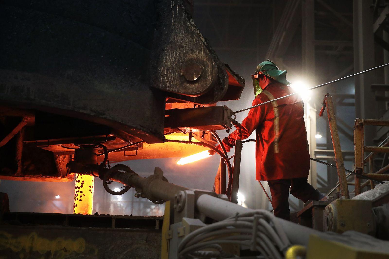 USA / Konjunktur / Stahl-Industrie / Wirtschaft