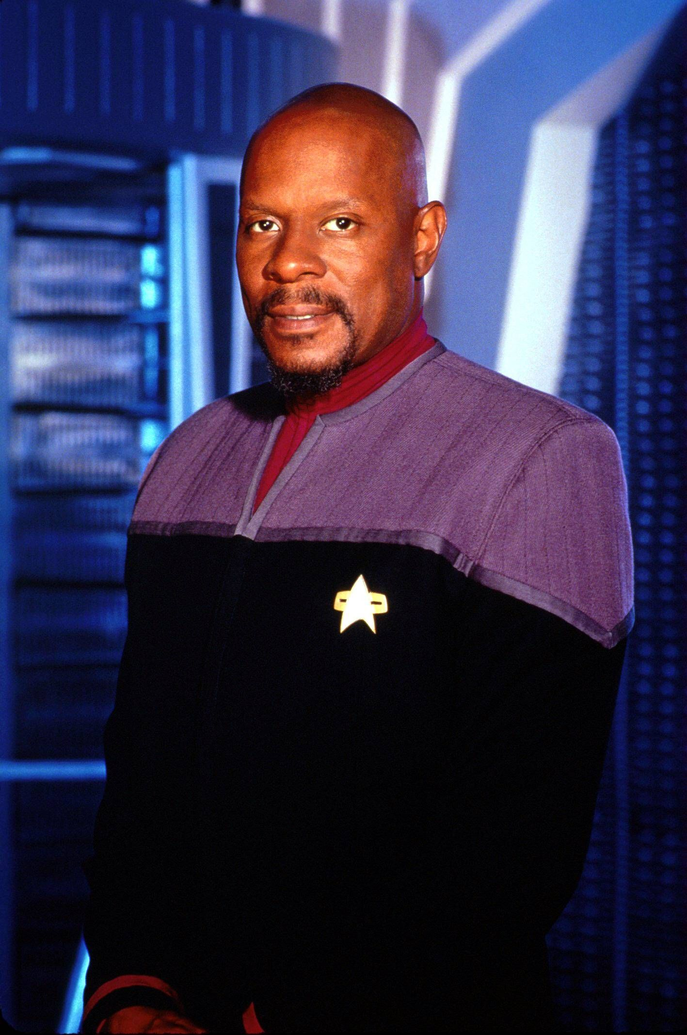 EINMALIGE VERWENDUNG Star Trek / Captain Benjamin Sisko (Avery Brooks)