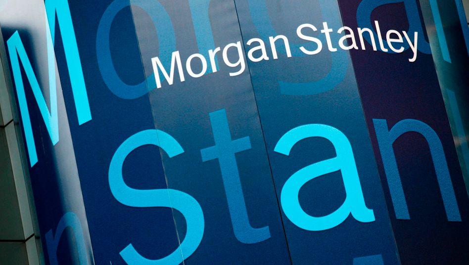Der Gewinn von Morgan Stanley kletterte um ein Viertel