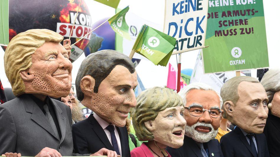 G20-Protest in Hamburg: Ab Dienstag feilen die Sherpas bereits an der Gipfelerklärung