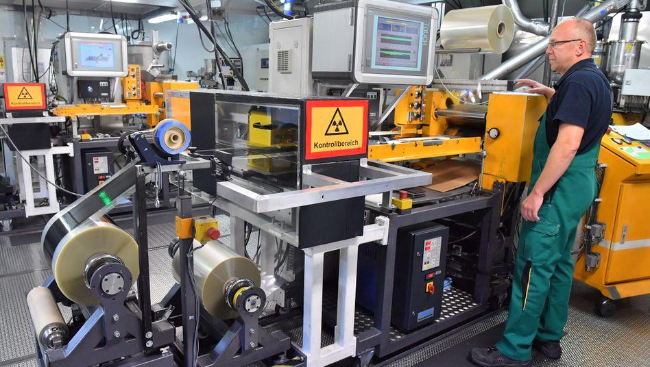 Produktion bei EAS in Nordhausen (Thüringen)