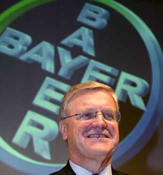"""""""Wir stehen zu unserer Jahreserwartung"""": Bayer-Chef Werner Wenning"""