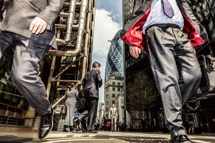 Zentrum der Bankenwelt: London ist der größte Exporteur von Finanzdienstleistungen.