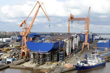 Nordseewerke in Emden: Von 1400 Beschäftigten behält ThyssenKrupp noch 270
