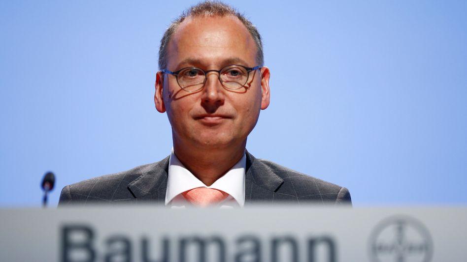 Wagt viel: Bayer-CEO Werner Baumann