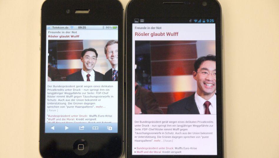 Smartphone-Boom: Samsung hat im vierten Quartal seine führende Position vor Apple offenbar gefestigt