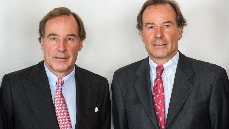 Im Visier der Steuerfahndung: Andreas und Thomas Strüngmann (v.l.)