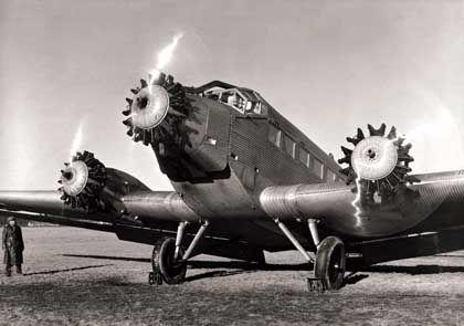 Junkers Ju 52: Mit diesem dreimotorigen Flugzeug wurde der BMW-Sternmotor weltberühmt