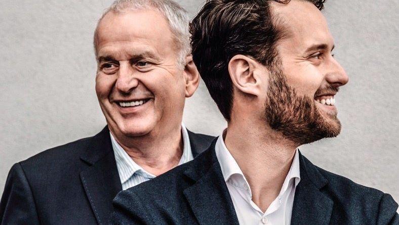 Exklusivität, Einkaufserlebnis und Events: Dieter (l.) und Fabian Stackmann aus Buxtehude.