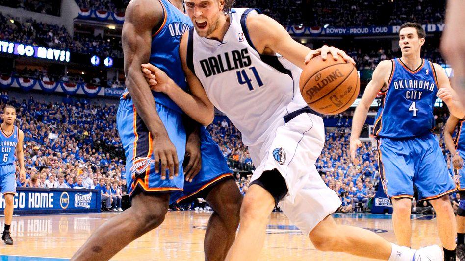 Mann gegen Mann: Mavericks-Star Nowitzki im Halbfinale gegen Oklahoma