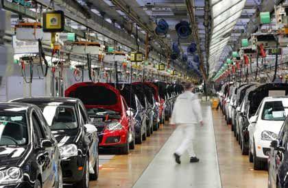 """VW-Produktion in Wolfsburg: """"Es darf keine Unwucht entstehen"""""""