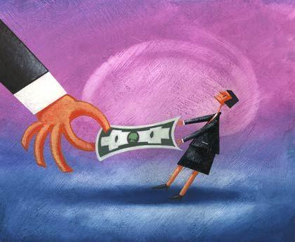 Kampf ums Geld: Die großen Unternehmen stecken weiterhin in der Kreditklemme, so Ifo-Chef Sinn