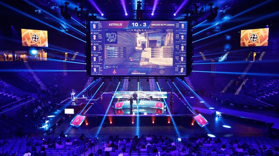"E-Sport-Turnier ""Dreamhack Masters"" in Las Vegas"