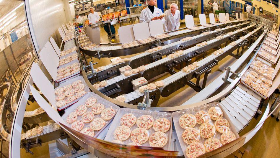 Pizza-Produktion bei Nestlé: Tiefkühlware gegen Börsen-Blues