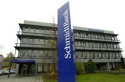 Existiert nicht mehr: Zentrale der Schmidt Bank in Hof