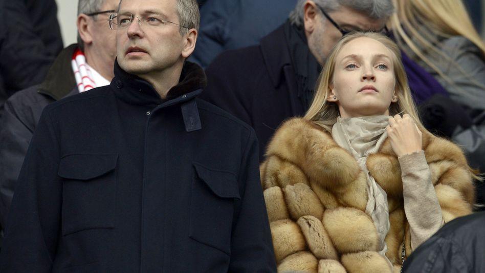 Dmitri Rybolovlev: Seine Frau Elena ist nicht im Bild. Das Scheidungsverfahren läuft seit 2008