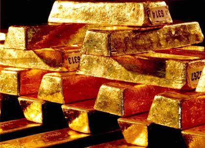 Schwermetall: Ein Barren ist rund 25 Zentimeter lang, acht Zentimeter breit, drei Zentimeter hoch und wiegt 12,5 Kilo