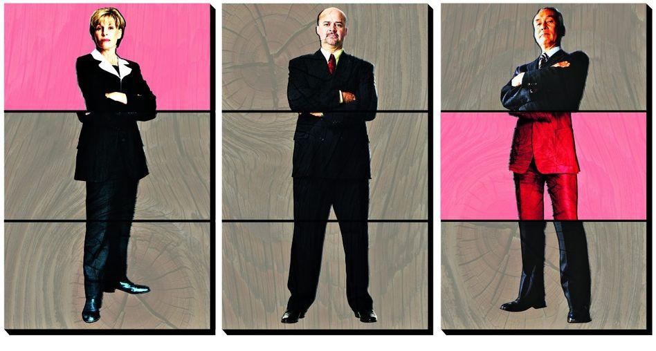 Alte Macho-Welt: Die Unternehmensspitzen werden von Männern dominiert, mit wenigen weiblichen Einsprengseln. Politik und Wirtschaft wollen das ändern.