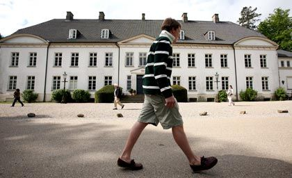 Nobel: Das Hauptgebäude des Internats Louisenlund