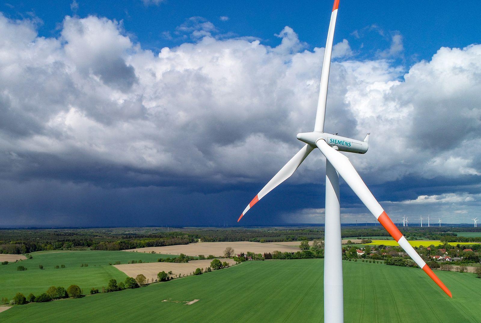 Windrad von Siemens