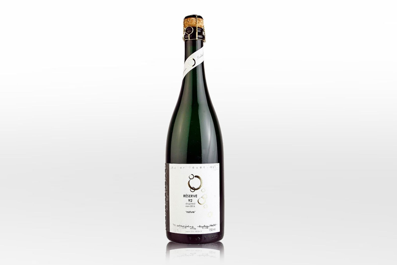 RIESLING-SEKT: Brut nature, Peter Lauer, 1992, ab 39 Euro