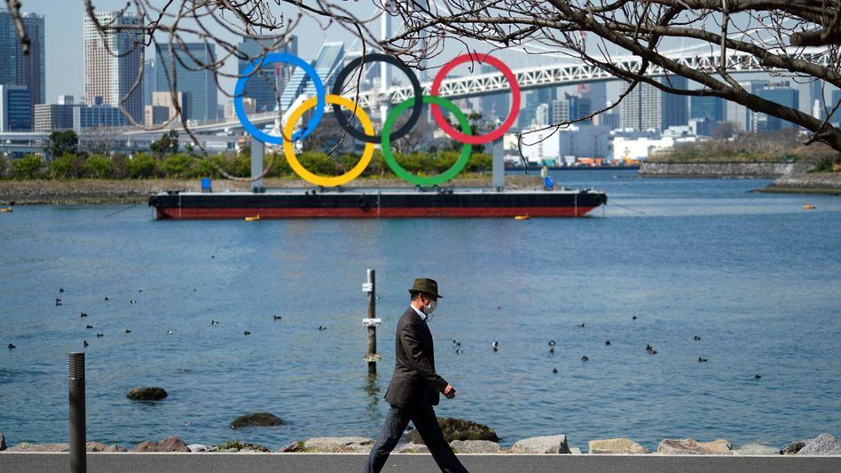 Akzeptanzproblem: Olympische Ringe in Tokio