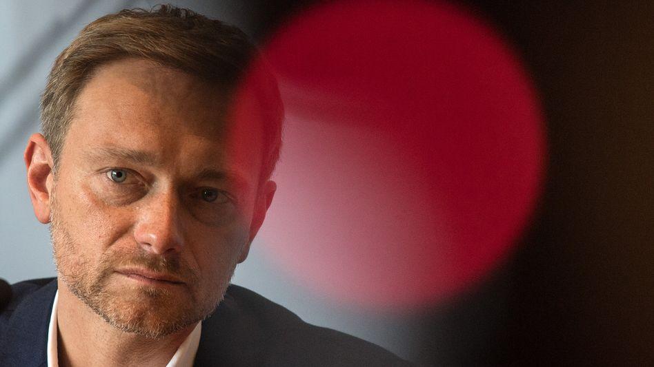 FDP-Chef Lindner: Harter Kurs in der Euro-Politik