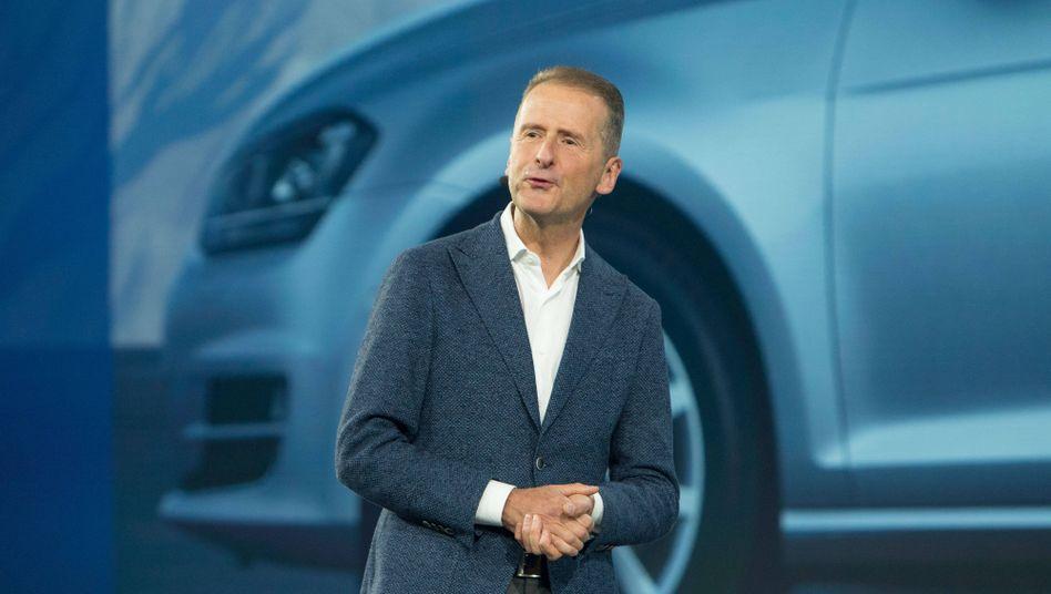 VW-Chef Diess: Der Dieselpreis ist viel zu niedrig