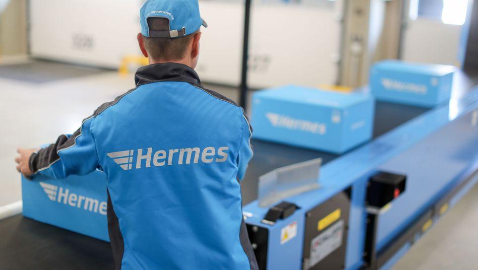 Hermes Logistik-Center: Die Otto-Gruppe will Teile des Logistikdienstleisters verkaufen und wäre dabei bereit, auch eine Mehrheit abzugeben.