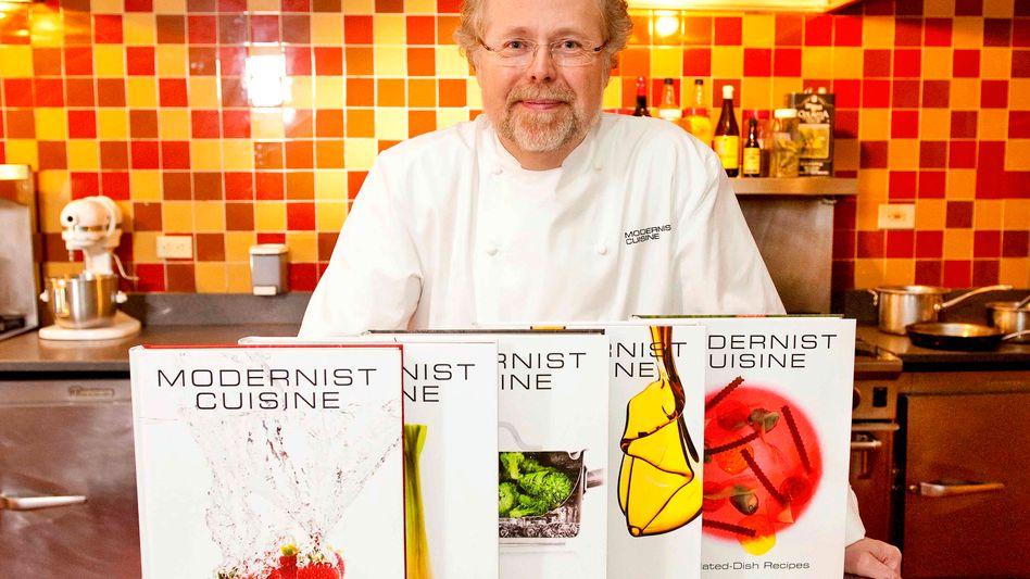 """Nathan Myhrvold: Die Enzyklopädie """"Modernist Cuisine"""" ist 2400 Seiten lang und 20 Kilogramm schwer"""