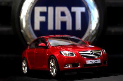 Hochglanz: Fiat-Chef Marchionne wirbt um die Autohochzeit von Fiat und Opel