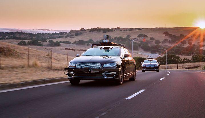 Selbstfahrende Testwagen von Aurora Innovations