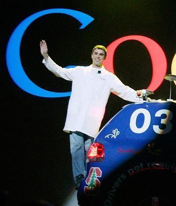 Höhenflug jäh unterbrochen: Auch Google-Gründer und Großaktionär Larry Page leidet unter dem Kurseinbruch