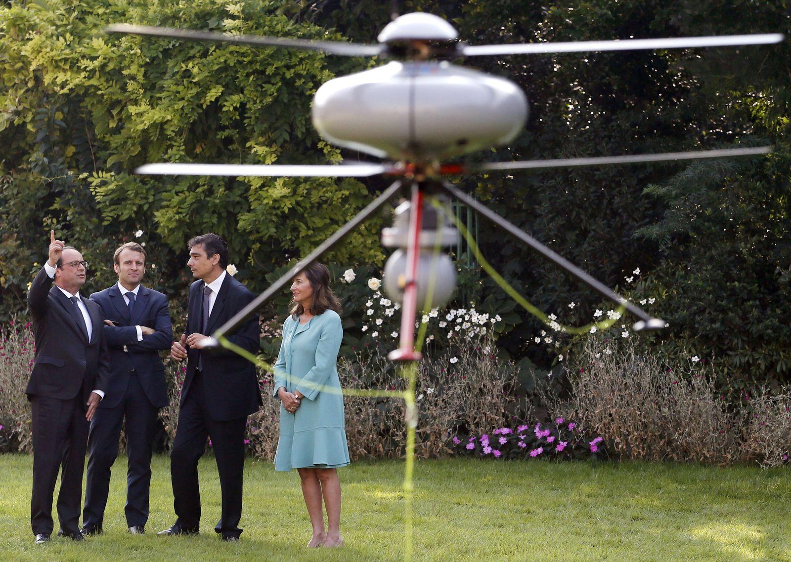Frankreich / Drohne / Hollande