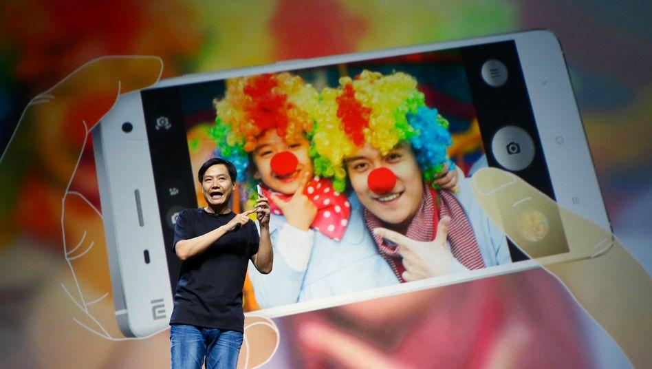 Aufsteiger: Xiaomi-Chef Lei Jun gründete vor vier Jahren sein IT-Unternehmen. Mittlerweile gehört es zu den weltweit größten Smartphoneherstellern