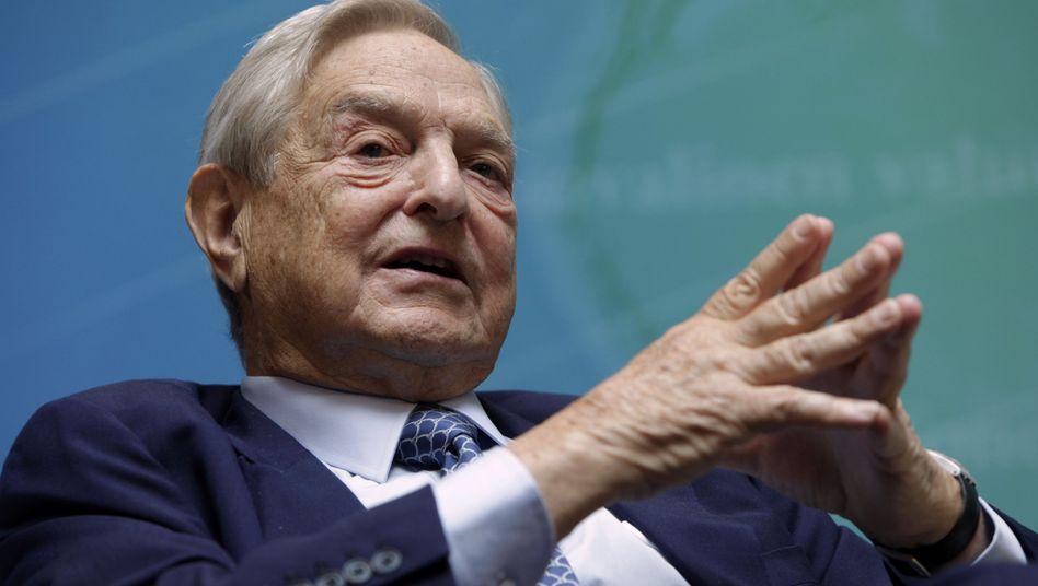 """Soros: """"Ich glaube an den Euro"""""""