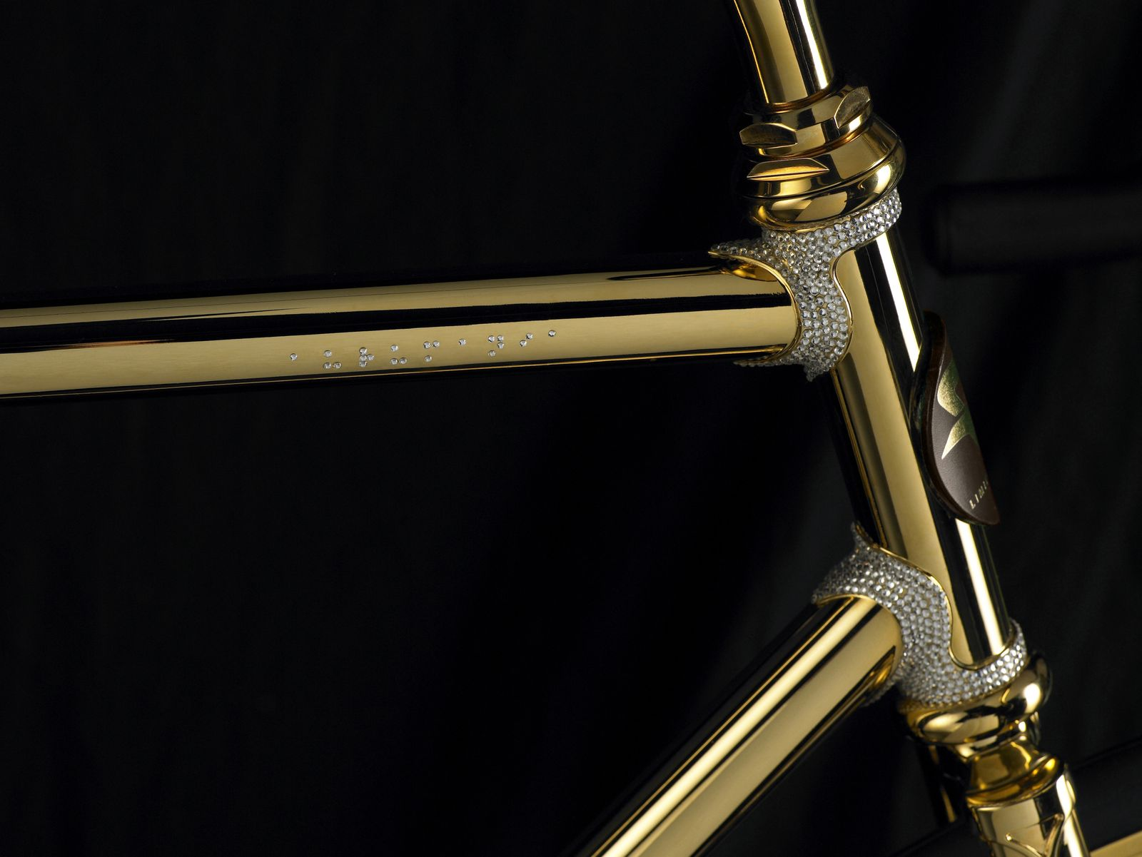 Aurumania / Gold-Fahrrad