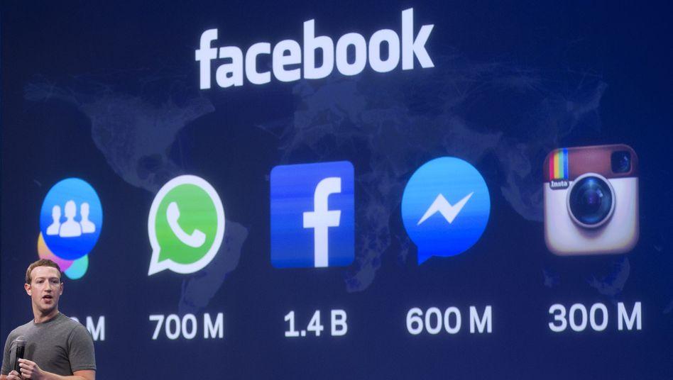 Facebook-Chef Mark Zuckerberg: Immer mehr, immer mehr