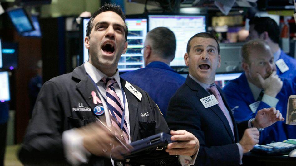 Kaufen, kaufen, kaufen: Nicht nur LinkedIn, auch Yandex verzeichnete am ersten Handelstag an der Wall Street satte Kursgewinne