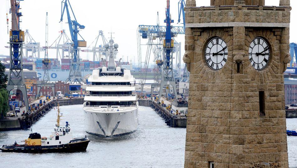 Hamburg: Stadt mit inoffizieller Enklave in der Schweiz