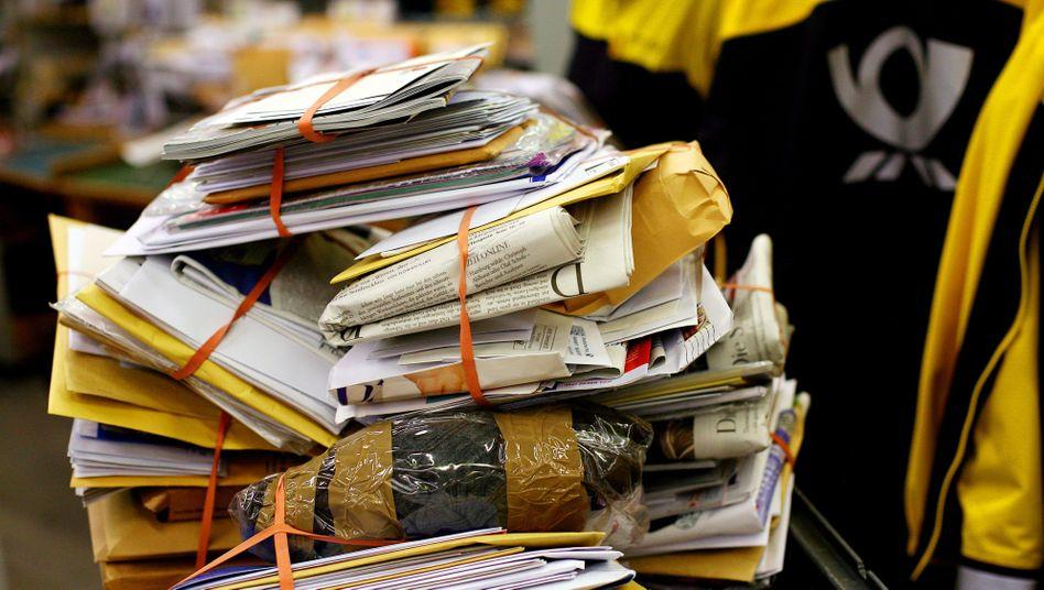 Briefverteilzentrum der Post: Gewinne im Briefgeschäft sollen stabil bleiben
