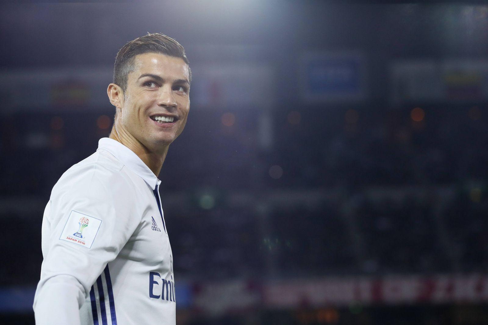 EINMALIGE VERWENDUNG Cristiano Ronaldo