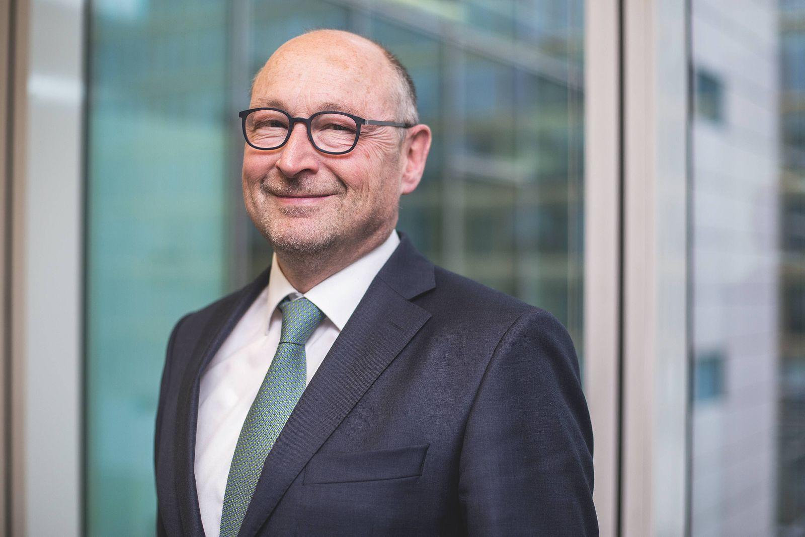 Interview mit Rolf Buch (Vorstand VONOVIA) im Axel-Springer-Haus *** Interview with Rolf Buch VONOVIA Management Board