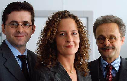 Projektteam (v. l.): Michael Baumgärtner (Geschäftsführer Watt Deutschland) , Anja Bläßer (mm-Marktforschung), Armin Müller-Schroth (Media Markt Analysen)