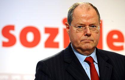 Erwägt schärfere Eingriffe: Bundesfinanzminister Steinbrück