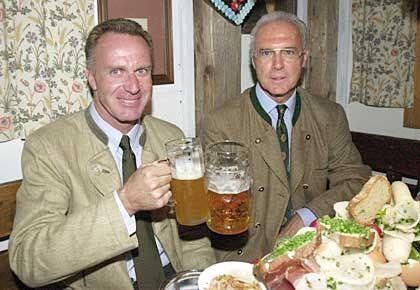 """Karl-Heinz Rummenigge und Franz Beckenbauer: """"Eine Beleidigung für den FC Bayern"""""""