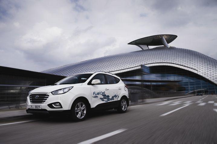 ix35 Fuel Cell von Hyundai