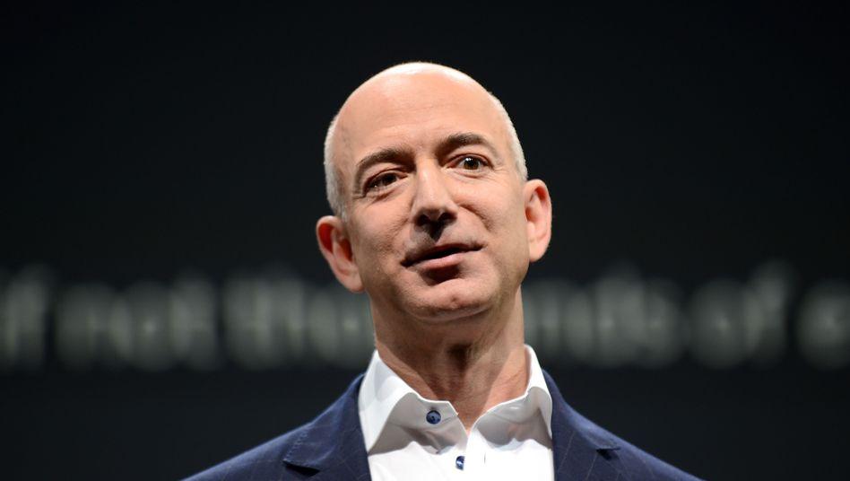 """Frisch gebackener Zeitungsbesitzer: Amazon-Chef Jeff Bezos übernimmt das Traditionsblatt """"Washington Post"""""""