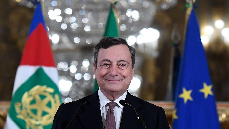 """Will """"gute Schulden"""": Mario Draghi soll Italien sanieren, sparen wird er dabei wohl nicht"""